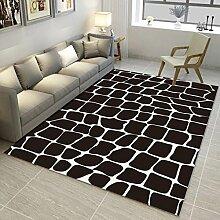 Innenteppich Designer Teppich Bereich Teppich Wohnkultur Teppich Wohnzimmer Schlafzimmer Bereich Teppich antistatisch Modern Decke ( Farbe : #1 , größe : 80*120cm )