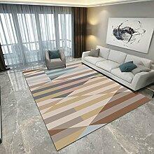 Innenteppich Europäischen Stil Teppich Wohnzimmer Sofa Tisch Pad Schlafzimmer Nacht Shop Decke ( Farbe : D , größe : 100*160cm )
