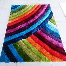 Innenteppich Rechteckige Teppich, Farbe Streifen