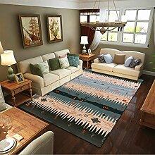 Innenteppich Rechteckige Teppich Moderne und einfache Wohnzimmer Studie Schlafzimmer Baby Fußmatten Decke ( Farbe : #7 , größe : 180*300CM )