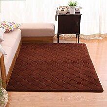 Innenteppich Rutschfeste Wohnzimmer rechteckige Teppich Schlafzimmer Baby Crawler Decke Decke ( Farbe : #2 , größe : 160*230 CM )