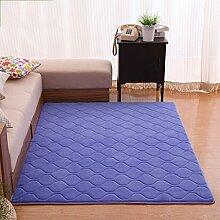 Innenteppich Rutschfeste Wohnzimmer rechteckige Teppich Schlafzimmer Baby Crawler Decke Decke ( Farbe : #1 , größe : 160*200CM )