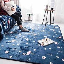 Innenteppich Teppich Fußmatten, Wohnzimmer Teppich, Schlafzimmer Sofa Teppich, Decke Oberfläche weich und komfortabel. - Erstklassige Qualität Decke ( größe : 190×230cm )