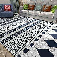 Innenteppich Teppich Teppich Schlafzimmer Wohnzimmer Großer Teppich - Geometrischer Teppich Decke ( Farbe : 2# , größe : 160*230cm )