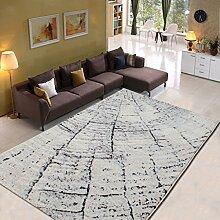 Innenteppich Teppich + Wohnzimmer Teppich Moderne Einfache abstrakte Teppich Decke ( Farbe : 4# , größe : 140cm×200cm )