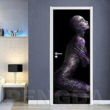 Innentüraufkleber Abstrakte Frau 88x200cm Kunst