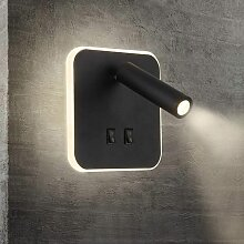 Innenwandleuchte LED-Leselicht Nachttischleuchte