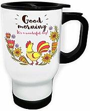 INNOGLEN Guten Morgen Huhn Weiß Thermischer