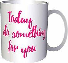 INNOGLEN Heute etwas für Dich Neuheit 33 cl Tasse