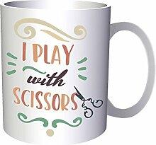 INNOGLEN Ich Spiele Mit Einer Schere 33 cl Tasse
