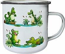 INNOGLEN Krokodil komische Natur lustige Karikatur
