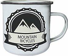 INNOGLEN Mountainbike Fahrrad Retro, Zinn, Emaille