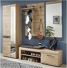 Innostyle - 4tlg.Garderobe Set WIEN Flurgarderobe