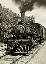Innova 16x 24/40x 60cm Old Lokomotive Glas-Ar