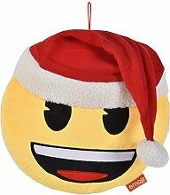 Innova Editions Emoji-Weihnachten Smiley 30cm