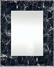 Innova Editions Marmor Effekt Eckig–Schwarz