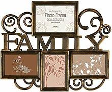 Innova PI04983 Milano 2 Family Bilderrahmen für 4