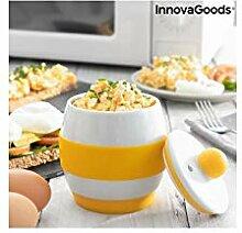 InnovaGoods Eierkocher aus Keramik für die