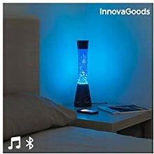 InnovaGoods Lavalampe mit Bluetooth-Lautsprecher