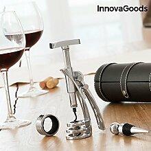 InnovaGoods Screwpull Wein Zubehör Set mit