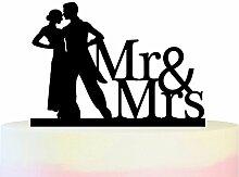 Innovedesire Mr and Mrs Couple Kuchenaufsätze