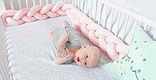 INOBXR Bettumrandung Babybett Weben für Baby