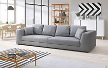 INOSIGN Big-Sofa Amiya, mit Zierkissen B/H/T: 310