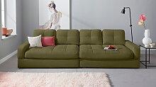 INOSIGN Big-Sofa Fenya, wahlweise auch Soft clean