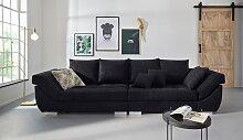 INOSIGN Big-Sofa Rome, Steppung im Sitzbereich,