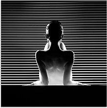 INOSIGN Leinwandbild Women 50x50 cm schwarz