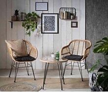 INOSIGN Sitzgruppe Adiba, für Indoor, Terrasse,