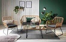 INOSIGN Sitzgruppe Yaro, für Indoor, Terrasse,