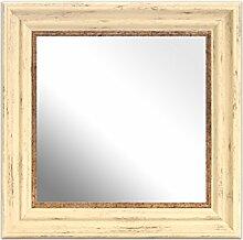 Inov8 Spiegel Rahmen Antik creme 12x 12, 1, beige