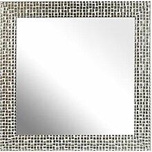 Inov8Spiegel Rahmen Mosaik 12x 12, 1, Silber