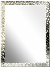 Inov8 Spiegel Rahmen Mosaik A32Stück, Silber,