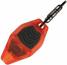 Inova Taschenlampe Microlight STS, Durchsichtig Orange/Schwarz, MLSA-M3-R7