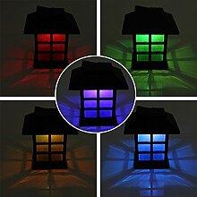Inovey 2Pcs Garten-Solar-Orientalische Led-Lampe Im Freien Yard Rasen Dekorative Licht-Bunte