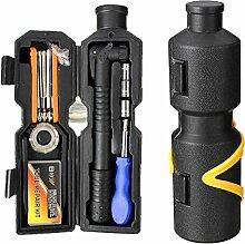 Inovey Bike Fahrrad Reparatur Tool Kit Set Multi Tools Portable Tool Case Für Outdoor Cycling Refix