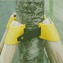INOVEY Gartenarbeit Tpr Obst Baum Fixierung Unterstützung Werkzeug Pflanze Windbreak Schutz Bindungs Halter Kit - 50Mm