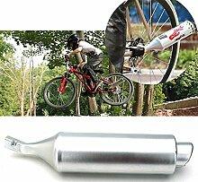 Inovey Mountain Bike Fahrrad Turbine Motorrad Sound Auspuffrohr Mit Einstellbarer Motocard