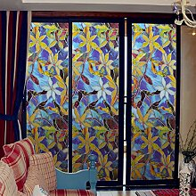 Inovey Statische Fensterfolien 3 Meter Orchid PVC