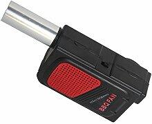 Inovey Tragbare Outdoor-Grill Elektrische Luftgebläse Bbq Feuer Falten Bbq Fan Kochwerkzeug