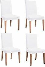 Inroy Stretch Stuhlüberzug Nadelstreifen Kurze