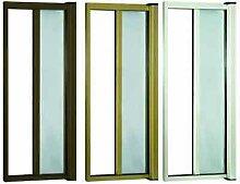 Insektenschutz A in Kit braun 140x 250H Horizontal Fenster Tür Reduzierbare