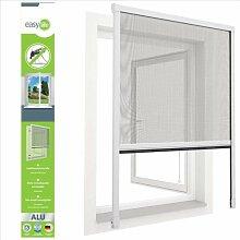 Insektenschutz ALU Rollo für Fenster 100 x 160 cm