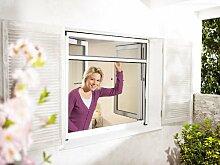 Insektenschutz-Fensterrollo 130 x 160 cm - weiß