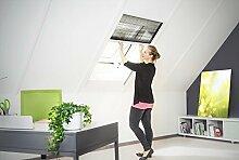 Insektenschutz Fliegengitter Dachfenster Plissee Alurahmen NEU