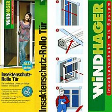 Insektenschutz Fliegengitter Rollo Tür 160x225cm