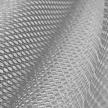 Insektenschutz - Fliegengitter - Schutznetze - Baldachin - Mückenschutz - Stoff - Meterware - 100 % Polyester (grau)