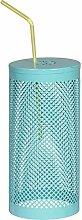 Insektenschutz für Trinkglas 20cm aqua blau